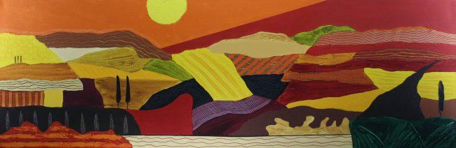 Schilderij van Ronald Boonacker