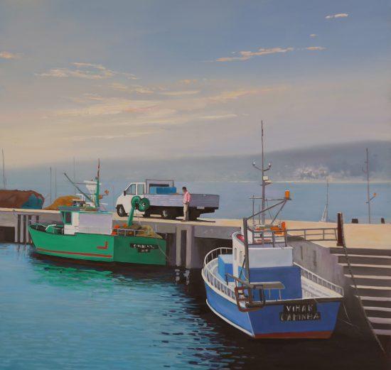 Schilderij van Pauline Bakker